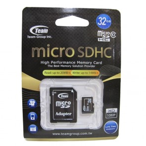 Team 32GB Micro SD Card