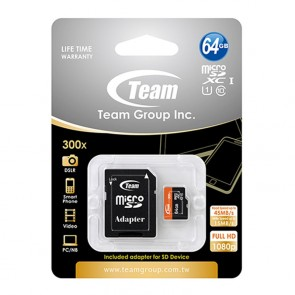 Team 64GB Micro SD Card