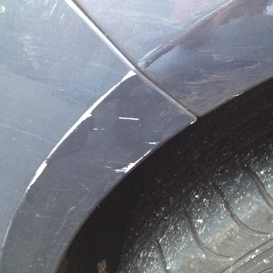 Damage to my vehicle