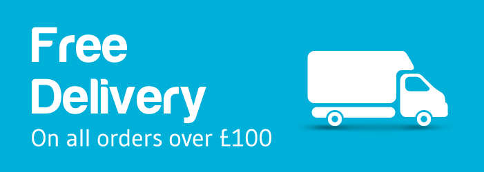 Free delivery for orders over £100