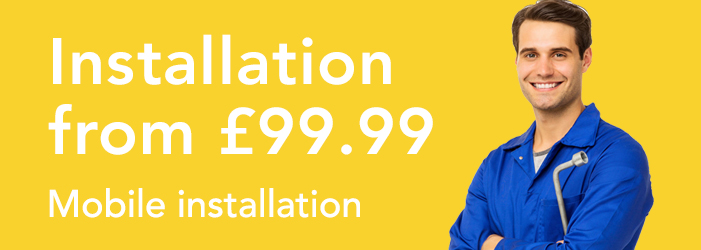 Professional mobile installation from only £99.99
